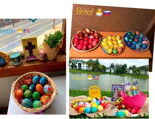Velikonočni prazniki – utrinki učencev