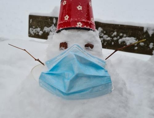 Prvi snežaki letos izpod rok učencev naše šole